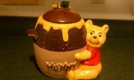WINNIE THE POOH COOKIE JAR - VINTAGE in Bartlett, Illinois