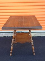 Solid Oak Parlor Table in Cherry Point, North Carolina