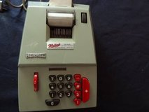 vintage Hermes electric adding machine in Houston, Texas