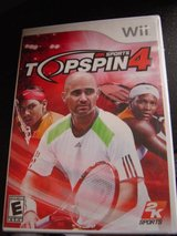 NEW Wii TopSpin 4 tennis game rated E in Fort Riley, Kansas